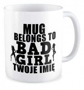 Even bad Girls needs coffee